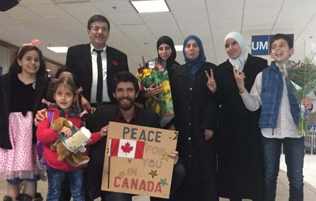 Nova Scotia's 2017 immigration numbers are lower than the previous year's because in 2016, about 1,500 Syrian refugees settled in the province, such as the Hadhad family, known for their Peace by Chocolate business. (Carolyn Ray/CBC)