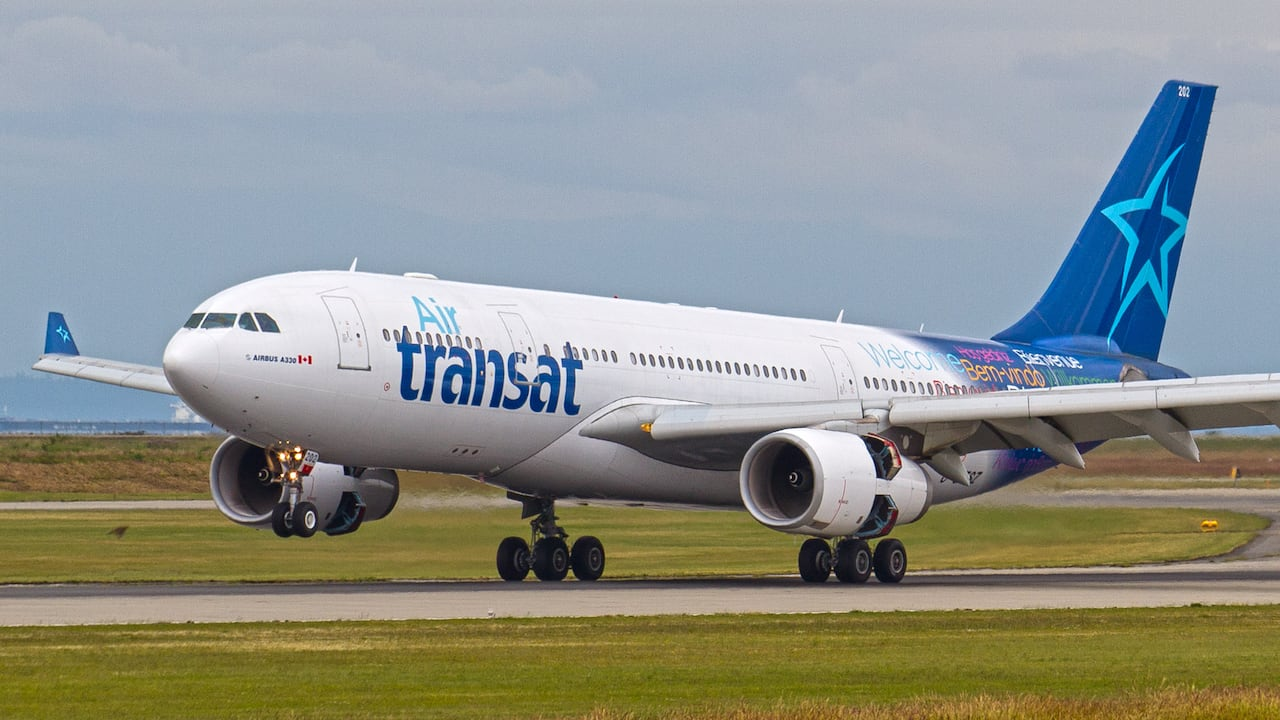 the mexican game how air transat