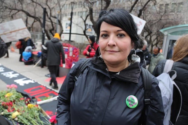 Toronto organizer Zoe Dodd