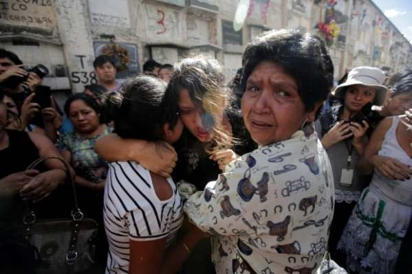 Guatemala families demand justice as girls who burned to ...