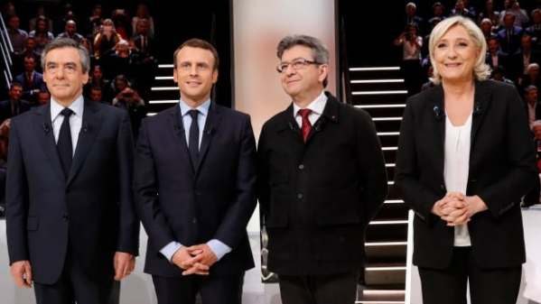 Polls show tight 4-way race in 1st round of French ...