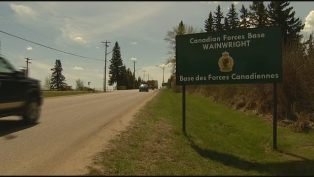 Canadian soldier dead, shot during live-fire exercise at Alberta base | CBC News