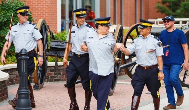 Matty and RCMP Depot Division