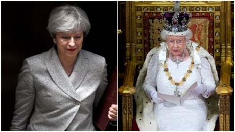 Queen and Theresa May