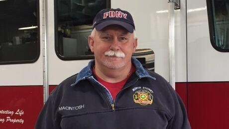 North Sydney Fire Chief Lloyd MacIntosh