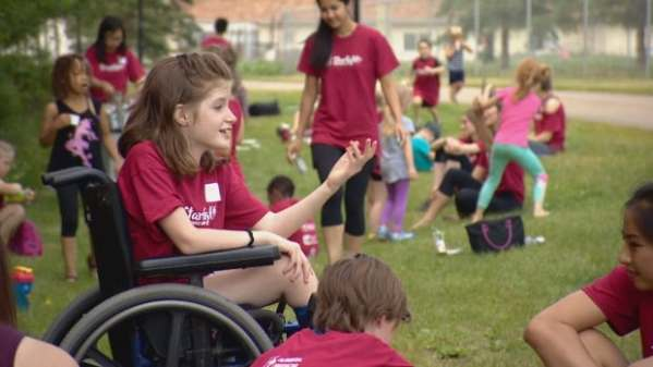 Arts camp gives sick and disabled kids a lift   CBC News