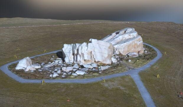 Big Rock (glacial erratic) in Okotoks