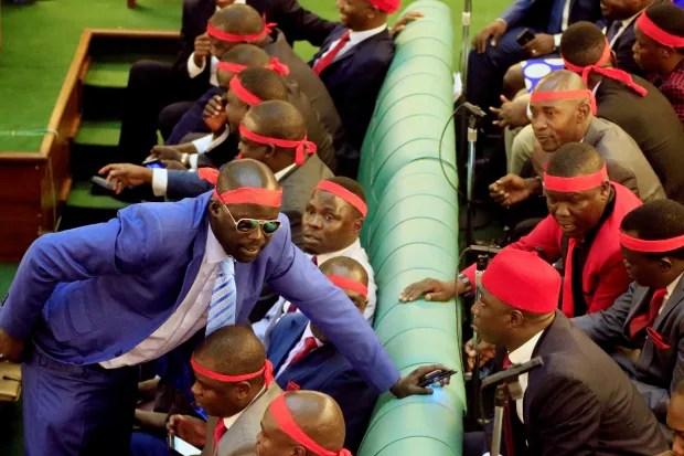 Uganda-politics-brawl-anthem