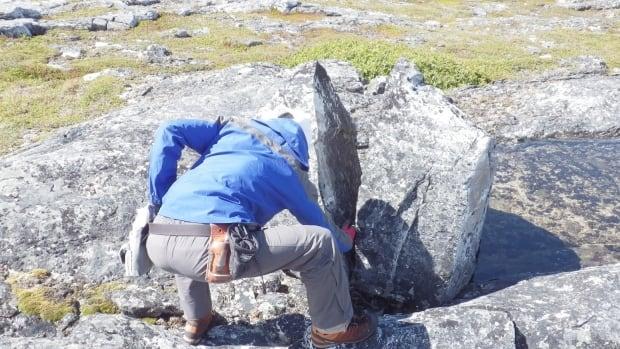 Labrador rocks