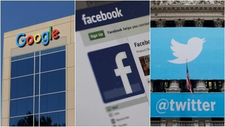 Google Facebook Twitter composite