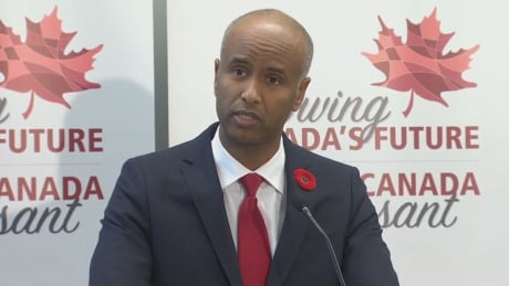 Immigration Minister Ahmed Hussen