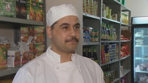 Khaled Al Hilal opened Al-Hilal Meat Shop in Halifax in August 2017.(David Laughlin/CBC)