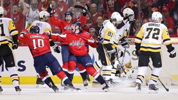 Capitals put Penguins on brink of elimination with Game 5 win