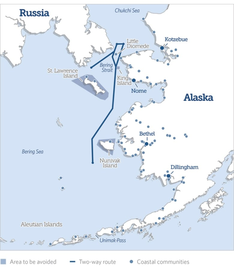 Maritime organization approves two-way shipping routes in Bering Strait bering strait shipping routes