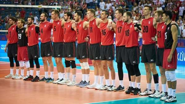 Canadian men's volleyball team earns 1st win at Nations ...