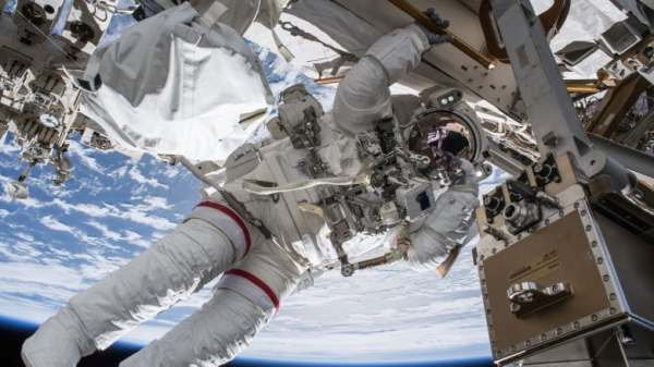Astronauts perform successful spacewalk to set up TV