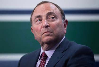 Image result for gary bettman angry