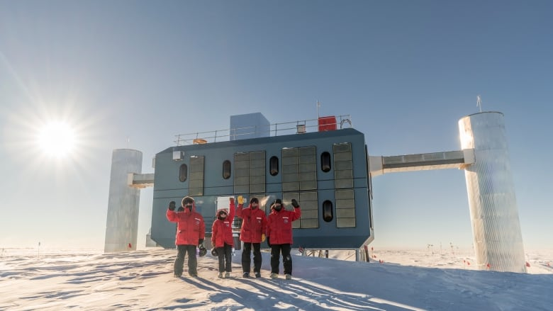 'Ghost particle' reveals source of mysterious cosmic rays winterovers icl