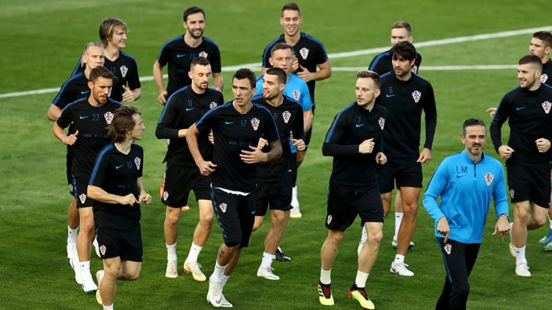 World Cup: Best and worst of the quarters, semis croatia train