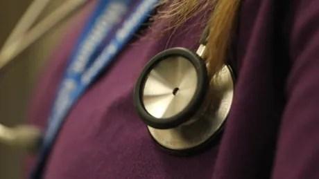 Nurse stethoscope