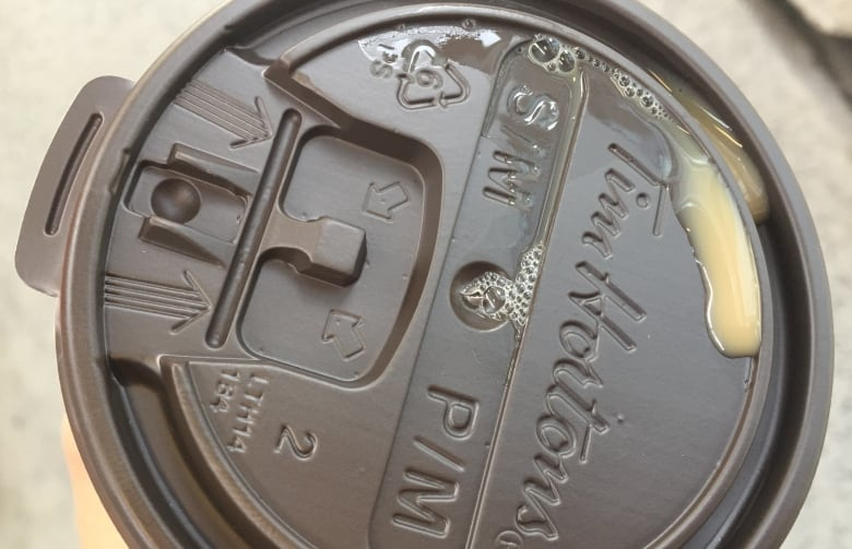 New Tim Hortons coffee lids leak too much, some customers say tim hortons old lid