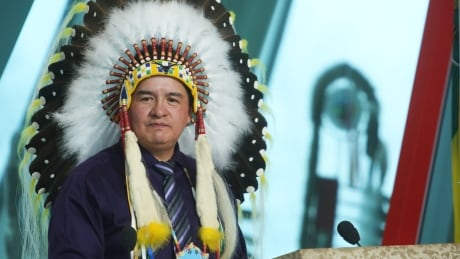 Federation of Sovereign Indigenous Nations chief Bobby Cameron FSIN