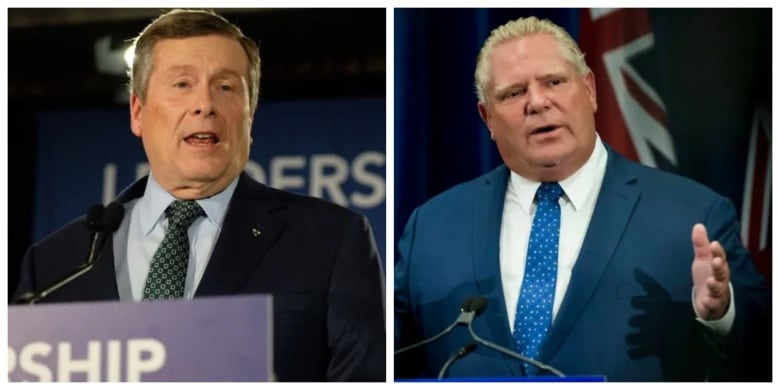john tory doug ford - Ontario's top court hears arguments for 2nd day over Toronto council cut