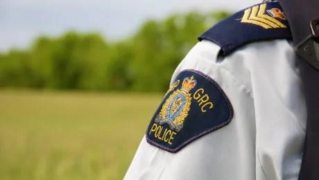 RCMP badge officer