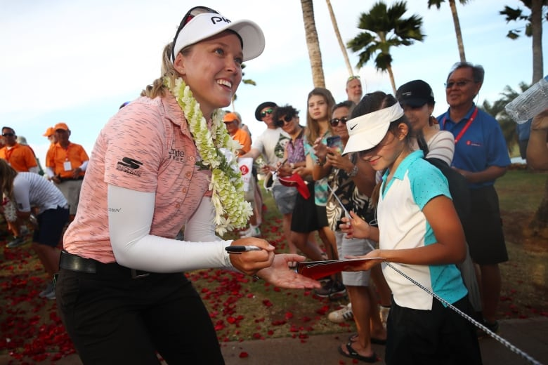 1144069240 - 'Kids just idolize her': Brooke Henderson's impact on Canadian golf 'immeasurable'