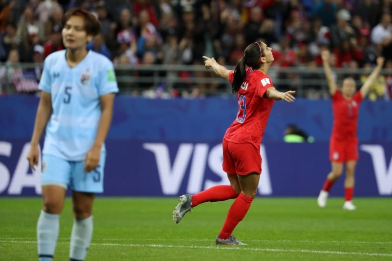 1155292626 - Americans' soccer celebrations a little too much for social media