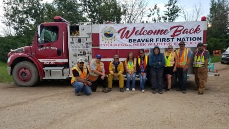 Beaver First Nation wildfire