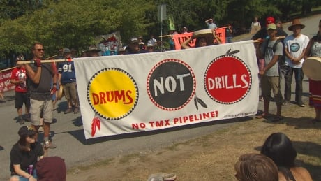 PIPELINE PROTEST BURNABY MOUNTAIN TMX AUG 5