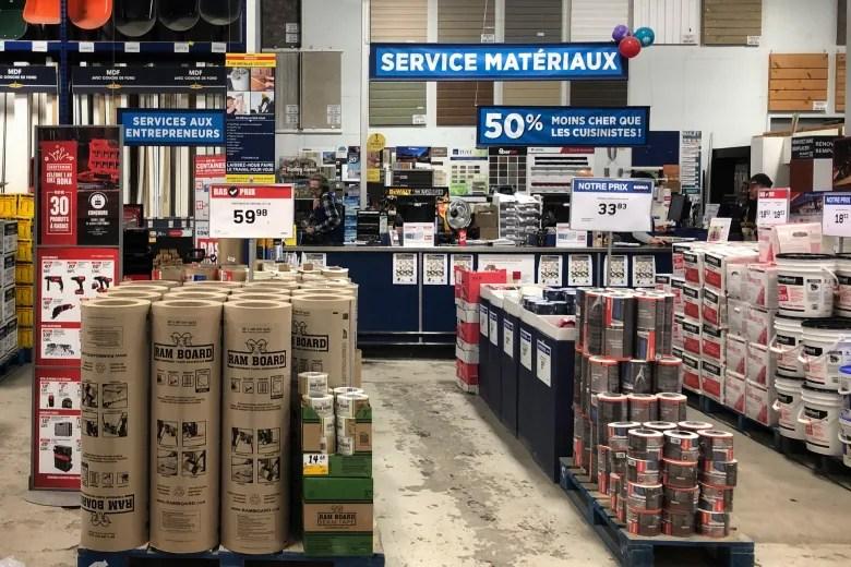 34 stores across canada