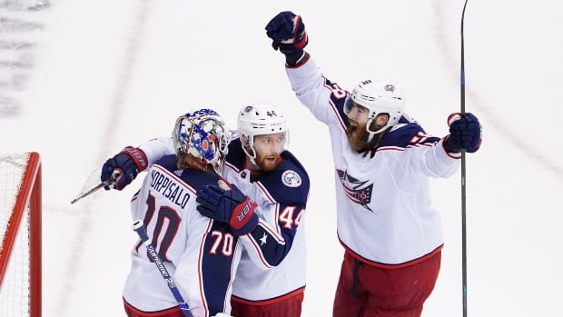 Blue Jackets remove Maple Leafs with Sport 5 shutout victory