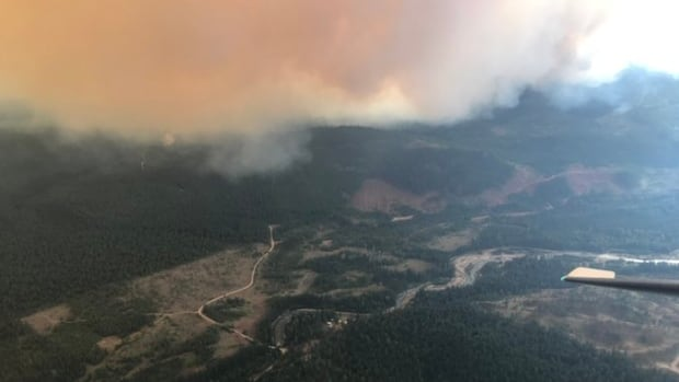3rd notable wildfire in B.C. prompts evacuation order | CBC News