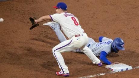 Blue Jays Phillies Baseball