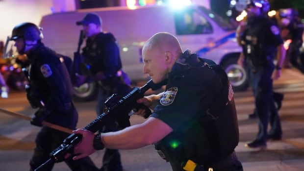 2 police officers shot in Louisville, Ky., as protests over Breonna Taylor's death continue