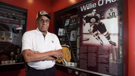 NHL's first Black player Willie O'Ree on how the game has changed