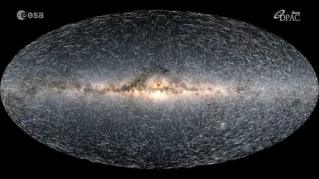 Astronomers share most detailed map yet of the galaxy