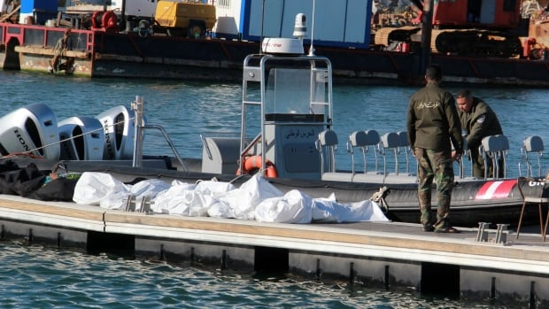 4 pregnant women among 20 migrants dead after boat sinks off Tunisia | CBC News