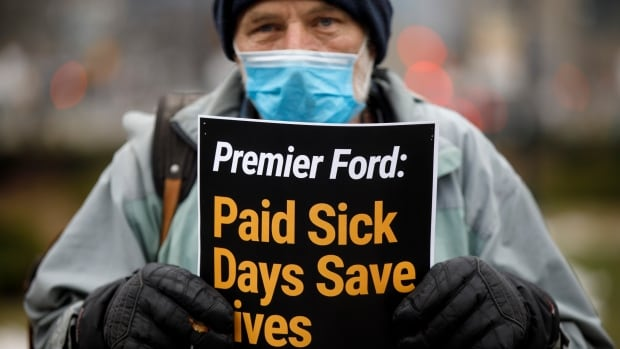 Federal sickness benefit falls short of paid sick leave protections, advocates say   CBC News