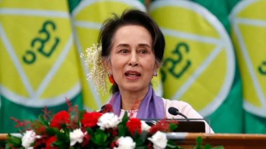 Embattled Myanmar leader Aung San Suu Kyi detained, says ...