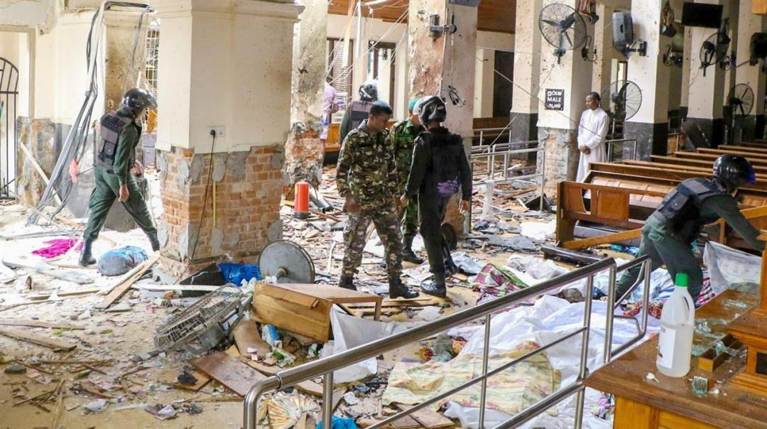 Sri Lnka Isisi Rivendica Attentati