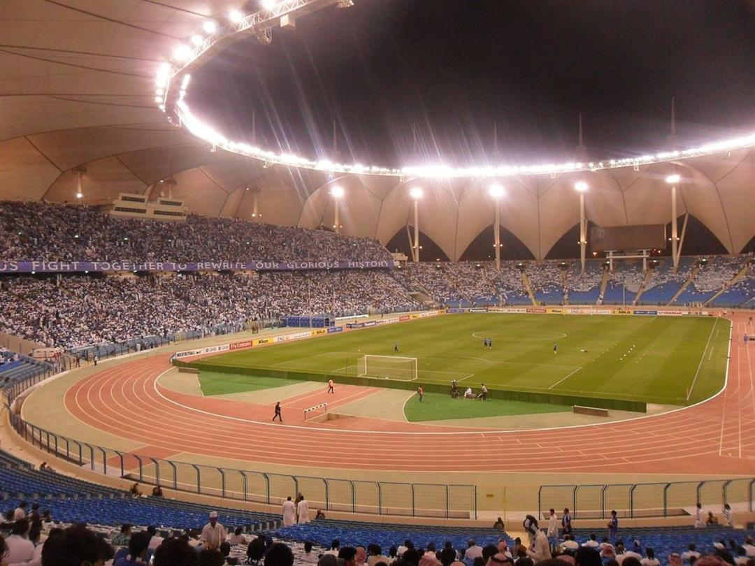 King Fahd International Stadium, Riyadh, Saudi Arabia, April 2014 WIK Ipedia