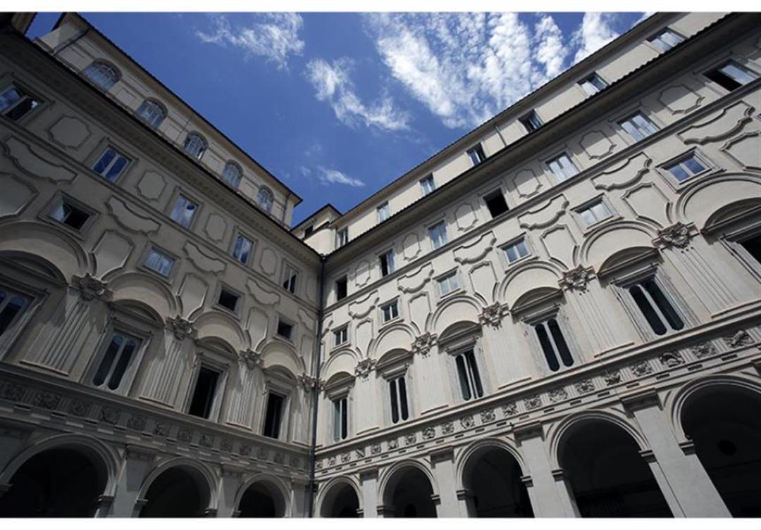 Cortile Palazzo Chigi Governo