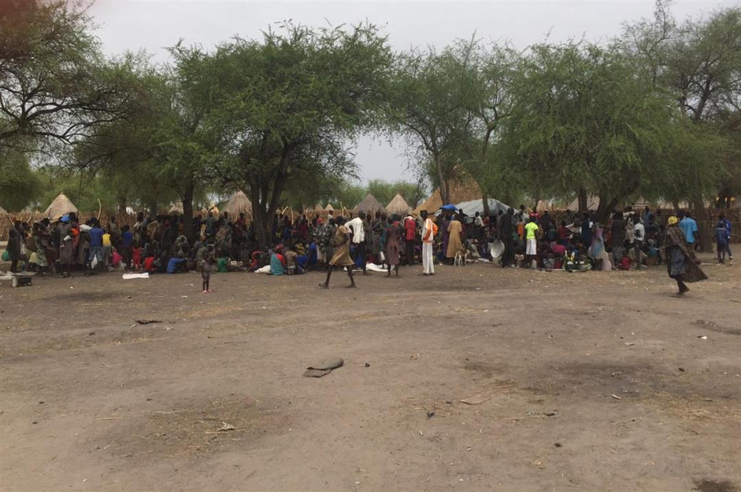 Sud Sudan 3 Credit Mohammad Allaw Oxfam Caption People Gathering For The Distribution, Kaikuny, Jonglei State