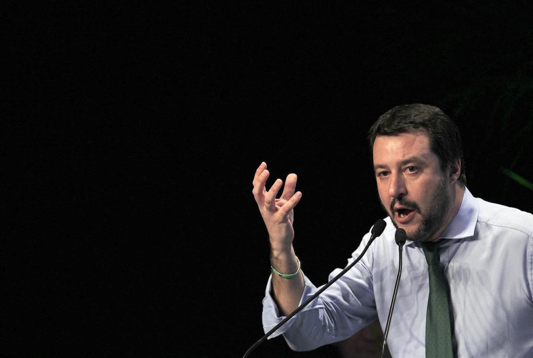 Matteo Salvini Northern League Italy