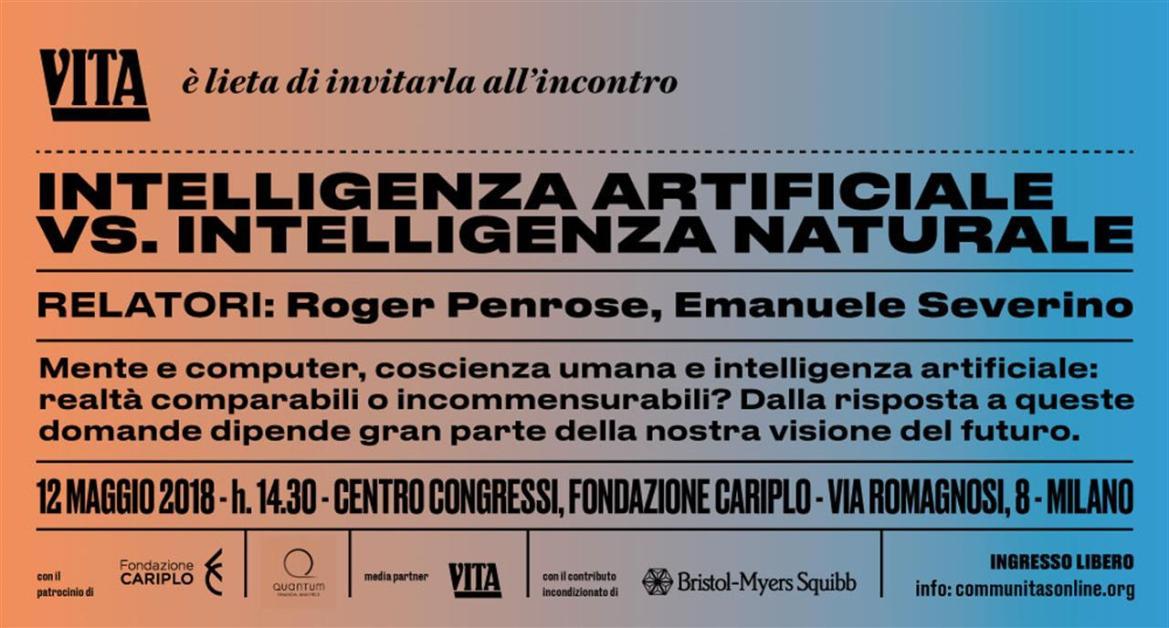 Intelligenza Artificiale Poster Invit Solovita