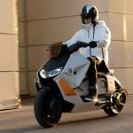 Bmw Motorrad Definition Ce 04 Concept Electric Scooter Revealed Newsbytes