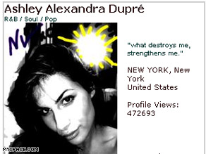 Report: 'Kristen' is Ashley Youmans -- now known as Ashley Alexandra Dupre.